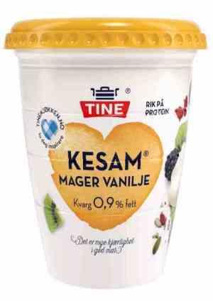 Prøv også Tine Kesam Vanilje Mager.