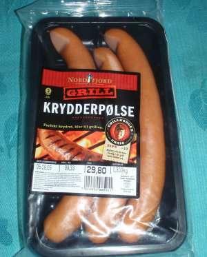 Prøv også Nordfjord grill krydderpølse.