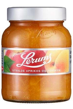 Bilde av Lerum utvalde aprikos og fersken.
