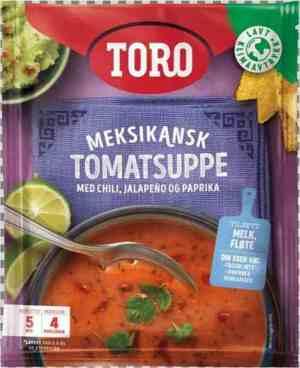 Prøv også Toro meksikansk tomatsuppe.