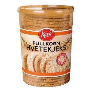 Prøv også Kavli Fullkorn Hvetekjeks.