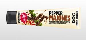 Prøv også Kavli pepper majones.