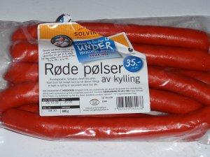 Prøv også Solvinge røde pølser av kylling.