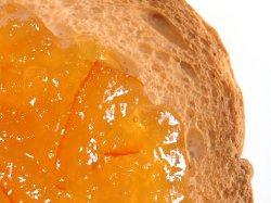 Bilde av Marmelade, 25 % appelsin, 65 % sukker.
