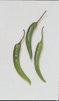 Prøv også Chili, grønn.
