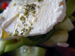 Bilde av Feta, ost med geitmelk.
