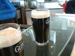 Prøv også Guinness.