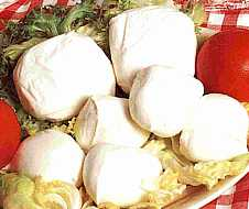 Bilde av Mozzarella, ost.