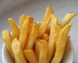 Bilde av Pommes frites, gatekjøkken.