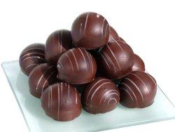 Bilde av Sjokolade, fylt, konfekt.