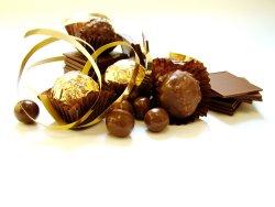 Bilde av Sjokolade, med nøtter.
