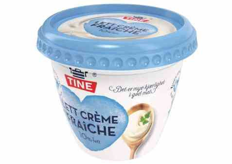 Bilde av Tine Crème Fraîche Lett 10 prosent.