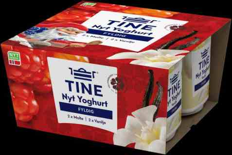 Bilde av TINE Yoghurt Nyt Julen.