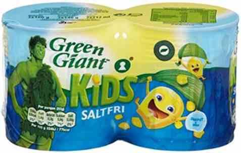 Bilde av Green Giant saltfri.