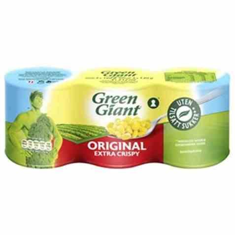 Bilde av Green Giant Original Extra Crispy Mais.