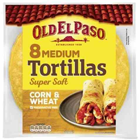 Bilde av Old El Paso Corn Tortillas.