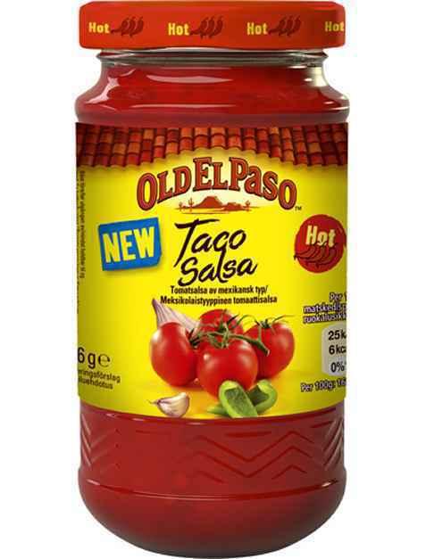 Bilde av Old El Paso Taco Salsa Hot.