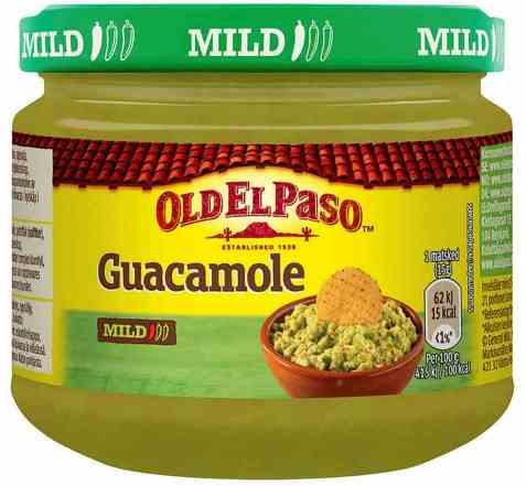 Bilde av Old El Paso Guacamole salsa.