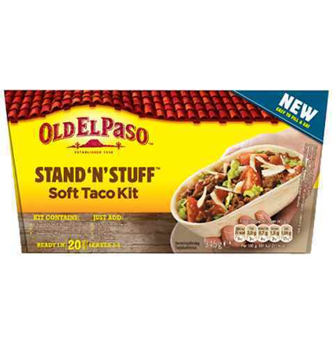 Bilde av Old El Paso Stand 'n' Stuff™ Taco Dinner Kit.