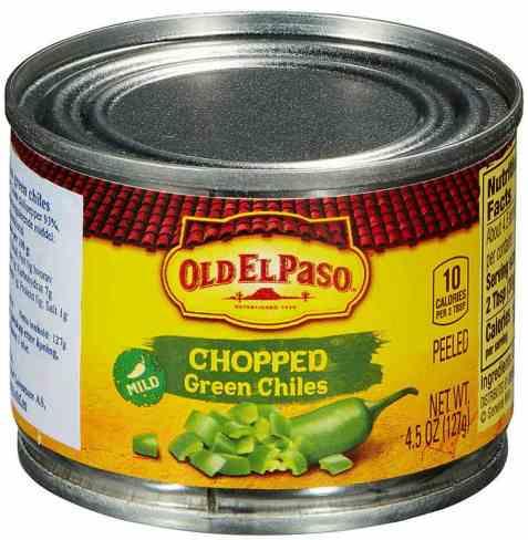 Bilde av Old El Paso grønn chili hakket.