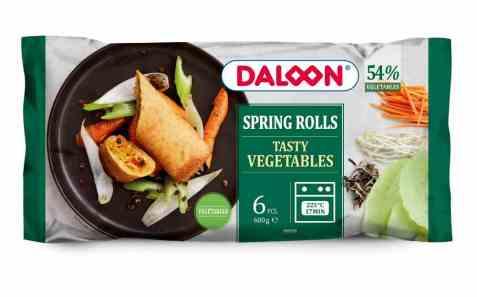 Bilde av Daloon Vårruller tasty vegetables.