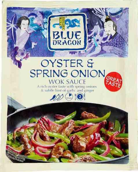 Bilde av Blue Dragon Woksaus Oyster & Spring Onion.
