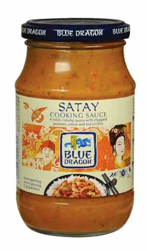 Bilde av Blue Dragon Peanut Satay cooking sauce.