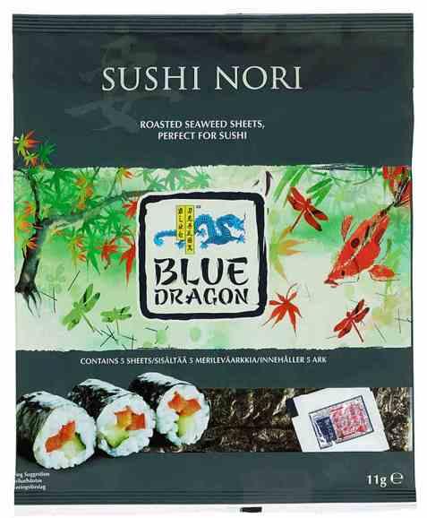Bilde av Blue Dragon Sushi Nori.