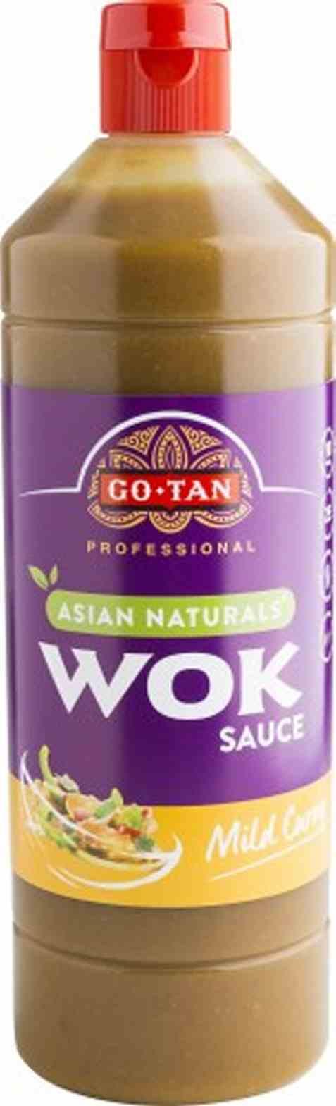Bilde av Go-tan Asian Naturals Woksaus Mild Curry 1 liter.