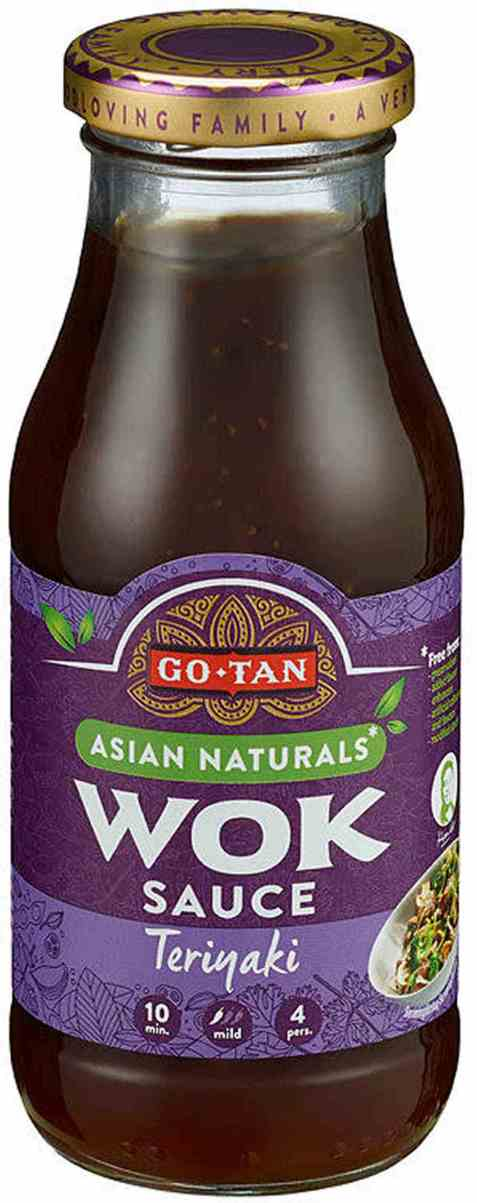 Bilde av Go-tan Woksaus Teriyaki 240 ml.