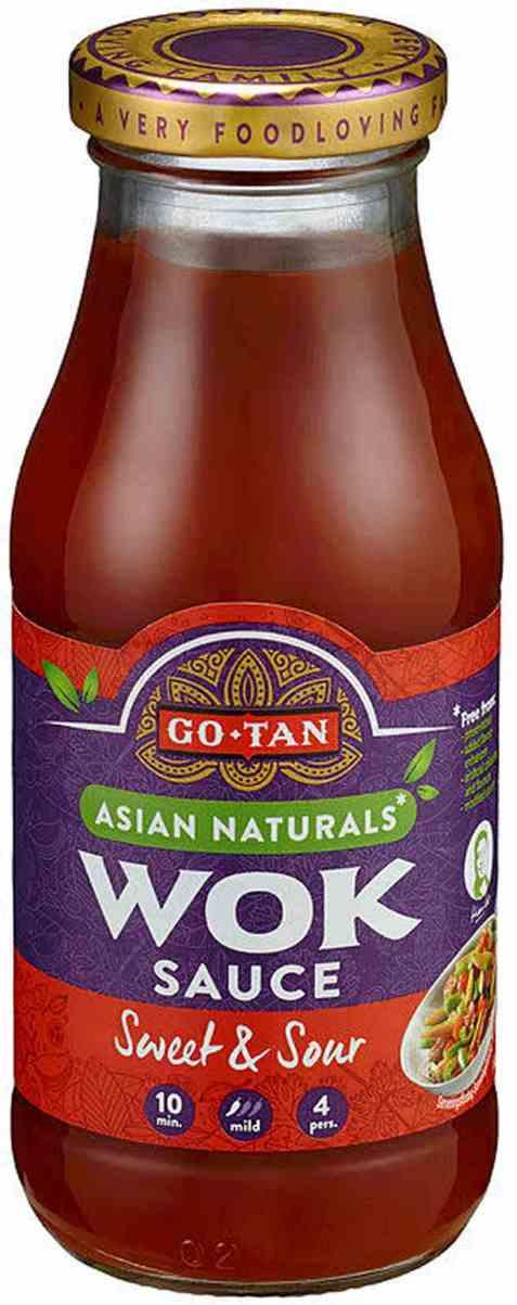 Bilde av Go-tan Woksaus Sweet and Sour 240 ml.