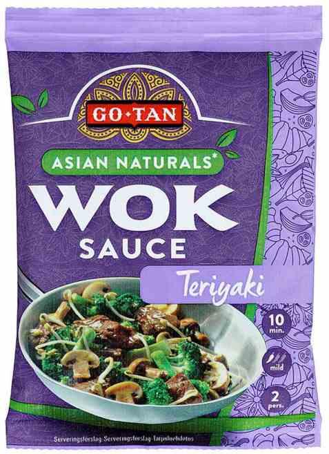 Bilde av Go-tan asian naturals woksaus Teriyaki 120 ml.