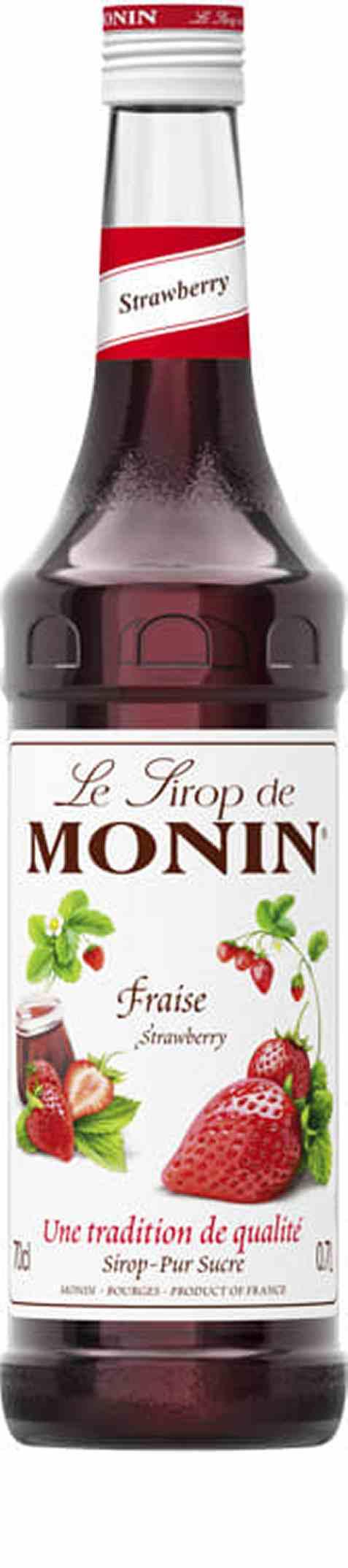Bilde av Monin Jordbær sirup.