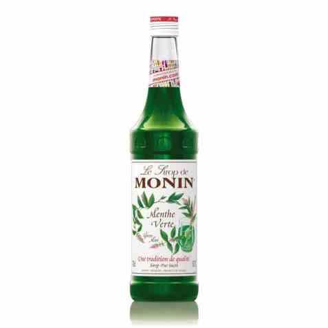 Bilde av Monin grønn peppermyntesirup.