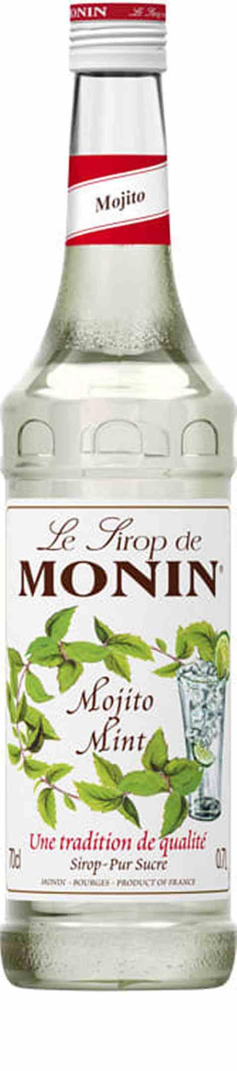 Bilde av Monin mojito mint syrup.