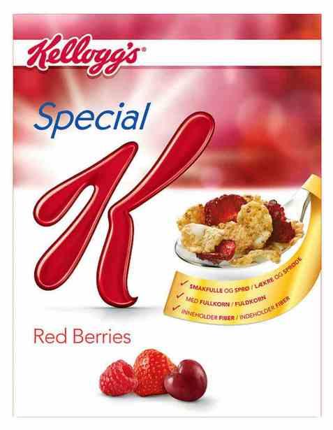 Bilde av Kelloggs special K Red Berries.