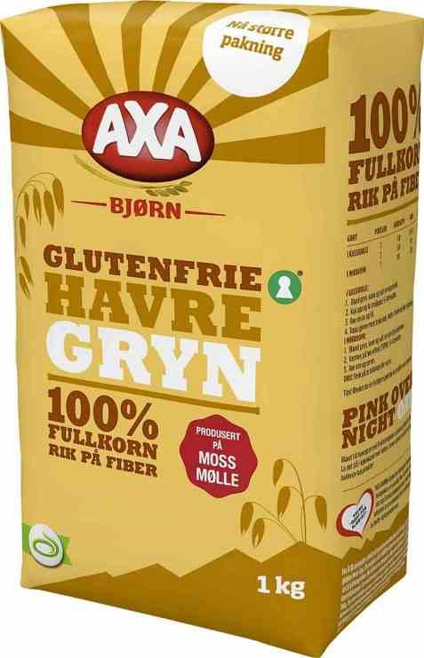 Bilde av Axa Bjørn havregryn store glutenfrie.