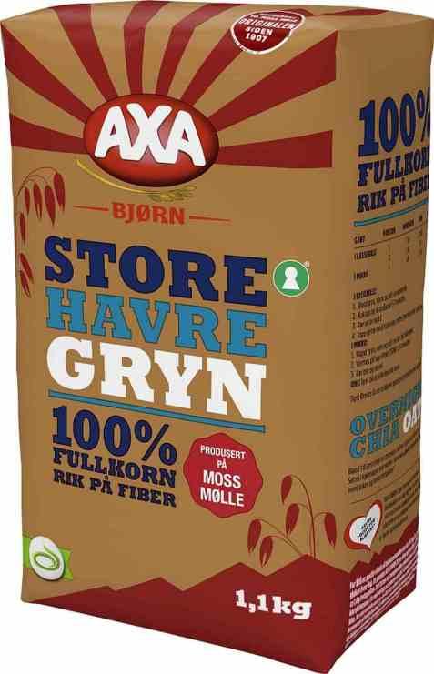 Bilde av Axa Bjørn Havregryn Store.