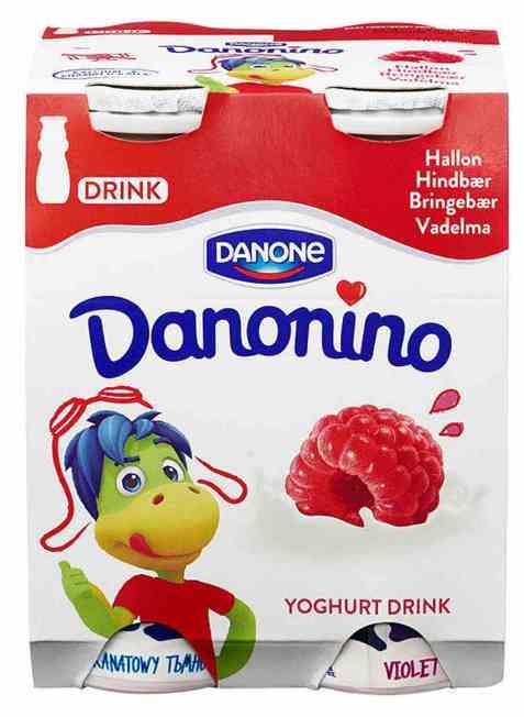 Bilde av Danonino drikke Bringebær.