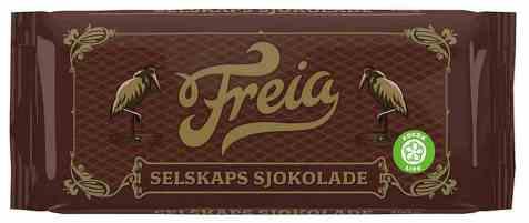 Bilde av Freia selskapssjokolade.