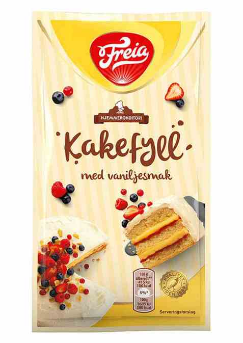 Bilde av Freia kakefyll vanilje.