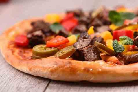 Bilde av Pizzabunn grunndeig.