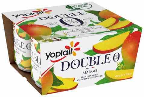 Bilde av Yoplait Dobbel 0 prosent Mango.