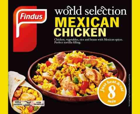 Bilde av Findus Mexican chicken.