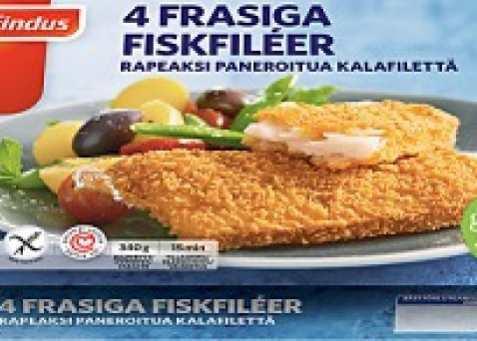Bilde av Findus 4 Frasbakade Fiskfiléer glutenfri.