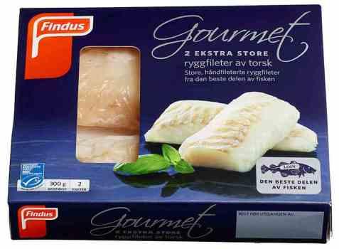 Bilde av Findus Gourmet XL Torskefilet.