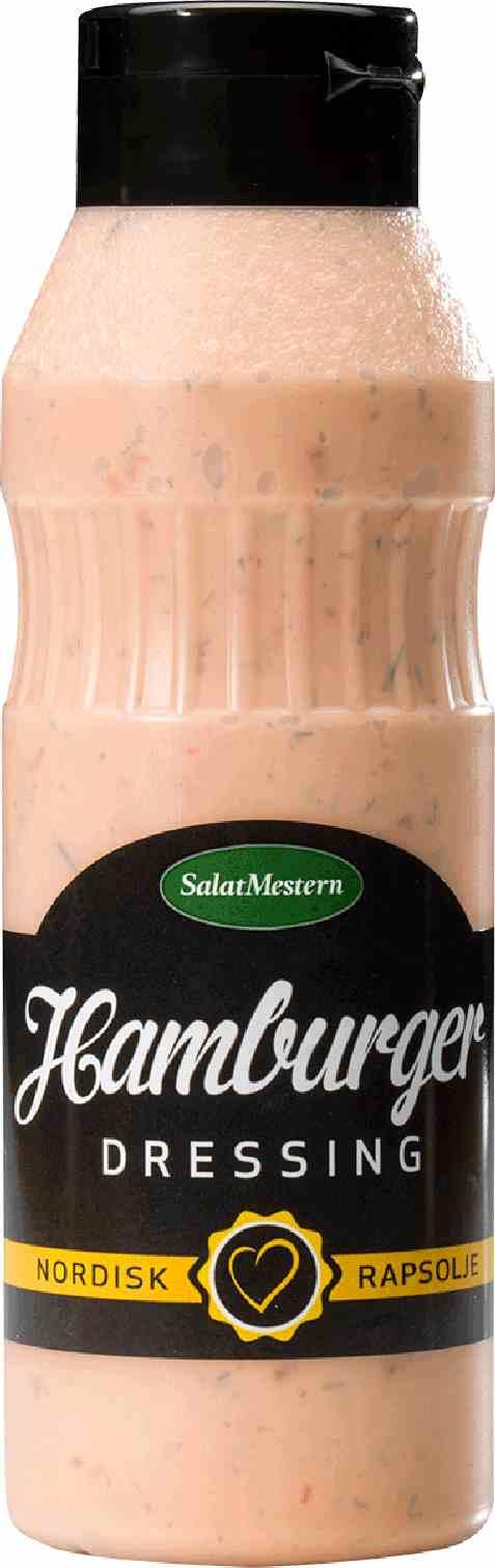 Bilde av Salatmesteren hamburgerdressing.