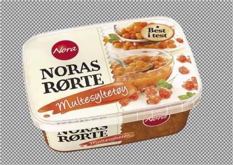 Bilde av Noras Rørte Multesyltetøy.