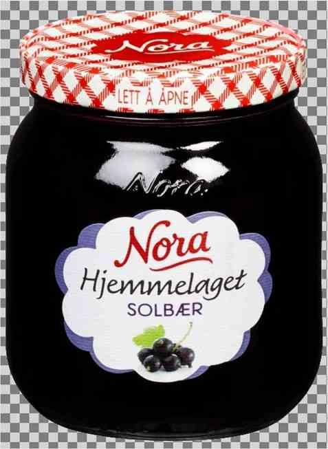 Bilde av Noras hjemmelaget solbærsyltetøy.