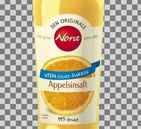 Bilde av Nora uten tilsatt sukker appelsinsaft.
